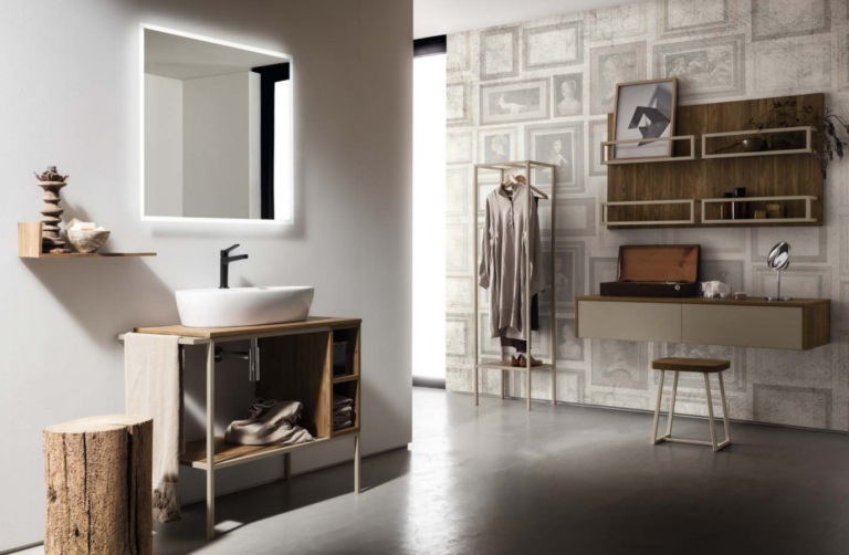 Mobili bagno industrial style arredamenti barin for Mobili x il bagno