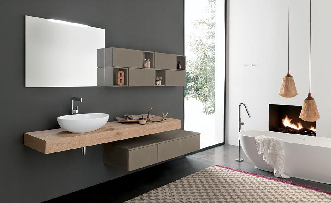 Mobili bagno vasca in appoggio arredamenti barin - Mobili bagno da appoggio ...