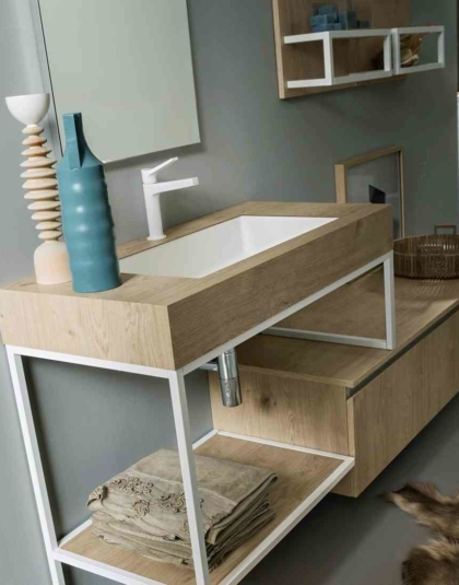 Mobili Bagno Industrial Style